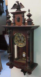 190707 Orologio a pendolo da parete dell'Ottocento